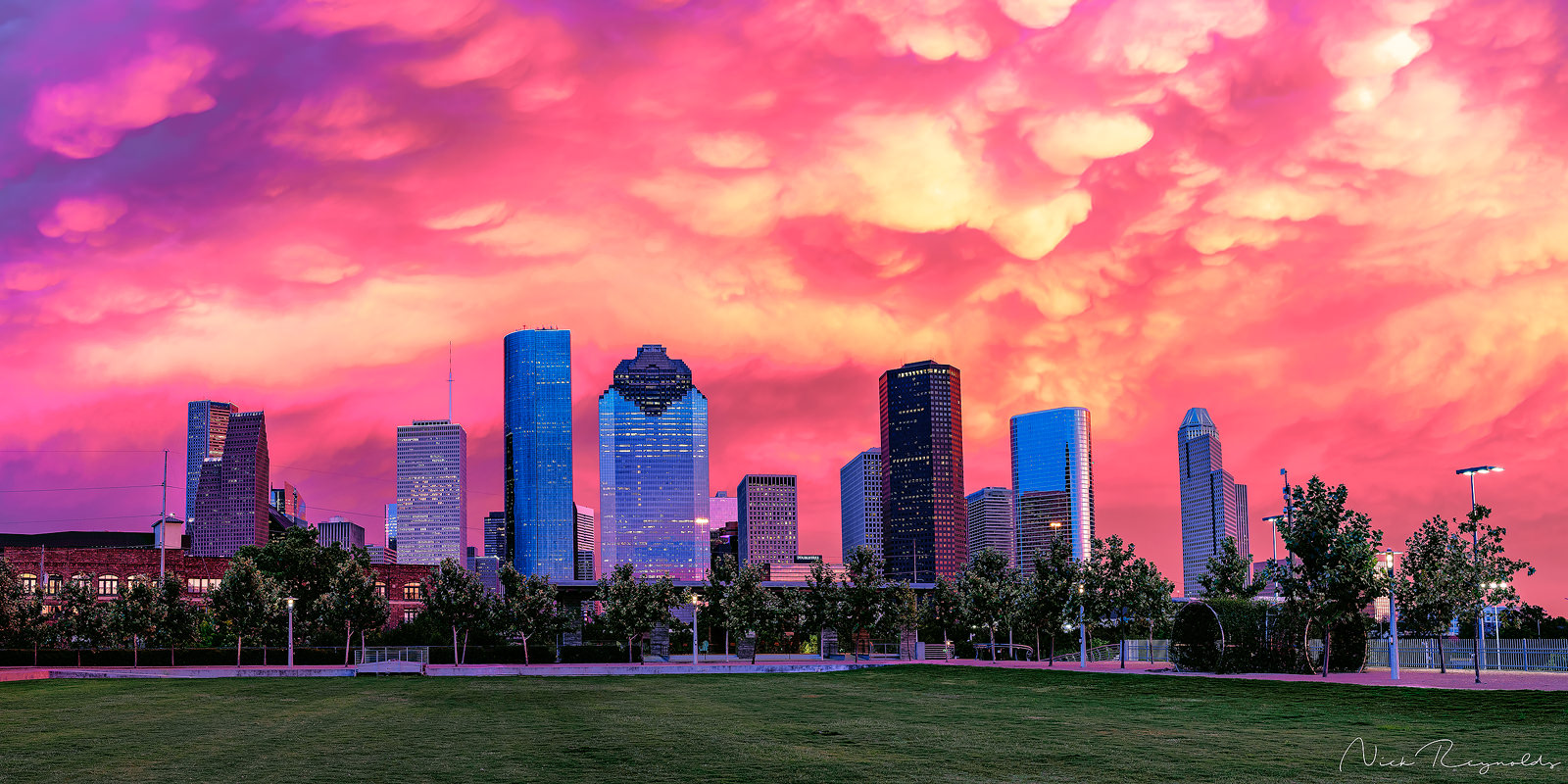 Limited Edition Fine Art - I was actually out shooting something else in the downtown area when the sky lit up like this. We...